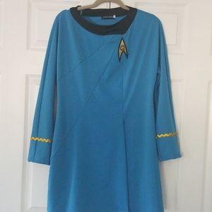 Star Trek Nurse Chapel costume PJs dress up XL